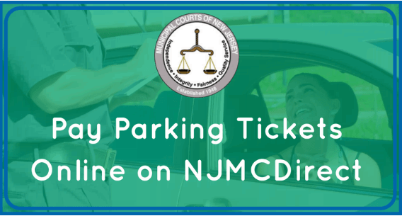 Pay tickets using NJMCDirect